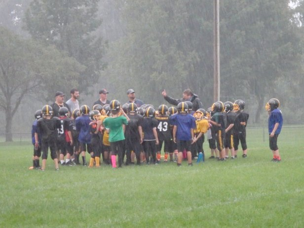 Play Football with Clay Panthers