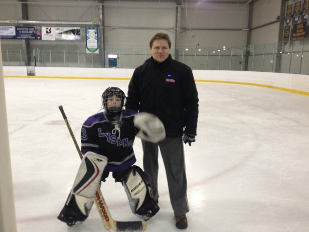 I wanted to be a hockey Goalie